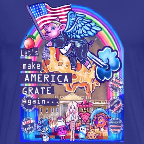 America's Grate Now - Men's Premium T-Shirt