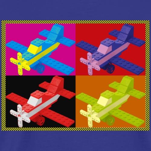 Pop Art Toy Plane - Men's Premium T-Shirt