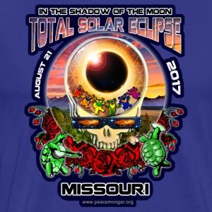 Missouri Eclipse Steal Your Face Shirt - Men's Premium T-Shirt