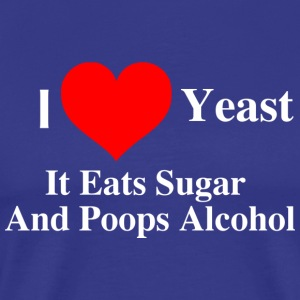 I Love Yeast - Men's Premium T-Shirt