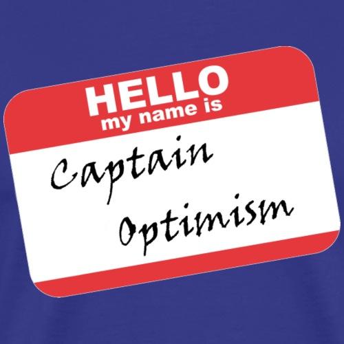 Captain Optimism - Men's Premium T-Shirt