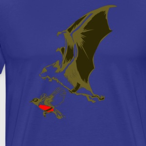 Bat and Robin - Men's Premium T-Shirt