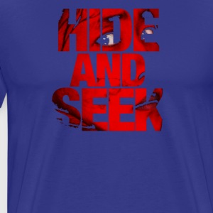 hide and seek - Men's Premium T-Shirt