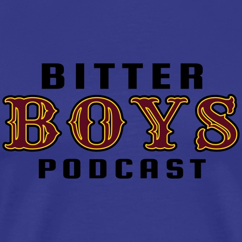 bitter boys logo color - Men's Premium T-Shirt