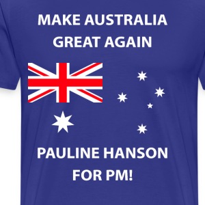 Pauline Hanson for PM - Men's Premium T-Shirt