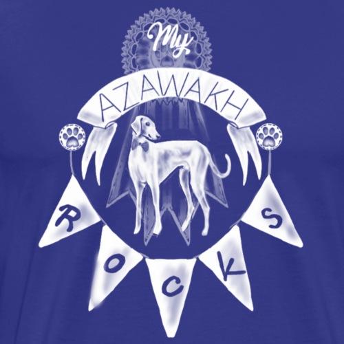 Azawakh's Rock - Men's Premium T-Shirt