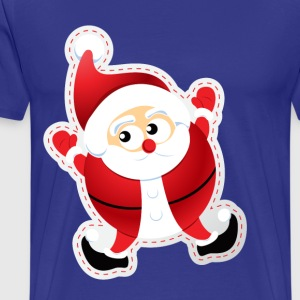 CUTE SANTA CLAUS - Men's Premium T-Shirt