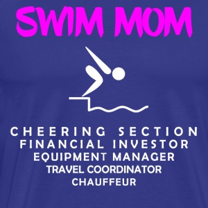 Swim Mom - Men's Premium T-Shirt
