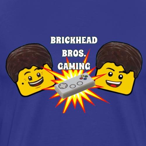 Brickhead Bros. Gaming - Men's Premium T-Shirt