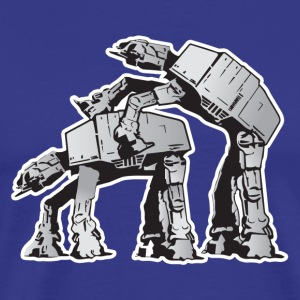 Star Wars AT-AT Dark side - Men's Premium T-Shirt