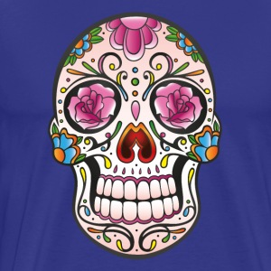 Mexican sugar skull - Men's Premium T-Shirt