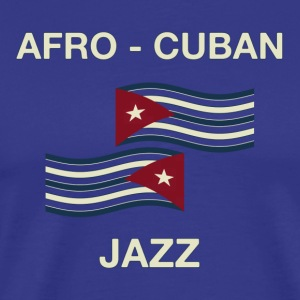 afro cuban jazz - Men's Premium T-Shirt