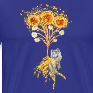 Moon Flower Original Art Design - Men's Premium T-Shirt