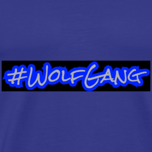 #WolfGang Design | Tiggah The Rapper - Men's Premium T-Shirt