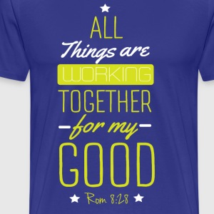 All things are working - Men's Premium T-Shirt