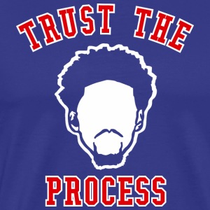 TRUST THE PROCESS TYPO - Men's Premium T-Shirt
