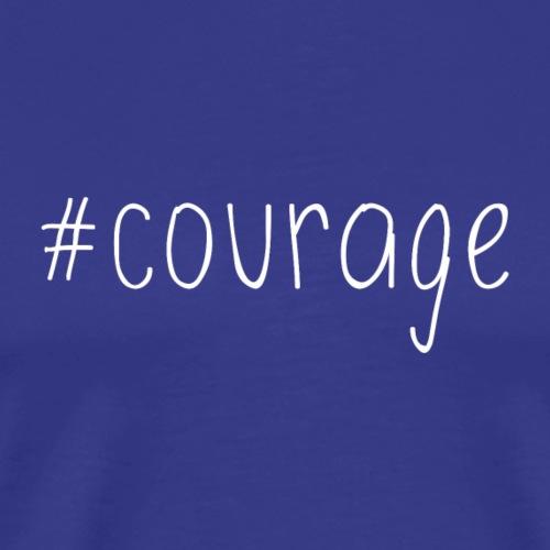 Hashtag Courage - Men's Premium T-Shirt