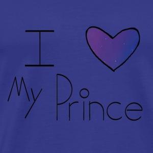 Galaxy I Heart My Prince - Men's Premium T-Shirt