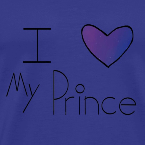 Galaxy I Heart My Prince - Men's Premium T-Shirt