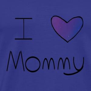 Galaxy I Heart Mommy - Men's Premium T-Shirt