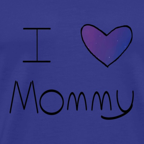 Galaxy I Heart Mommy - Men's Premium T-Shirt