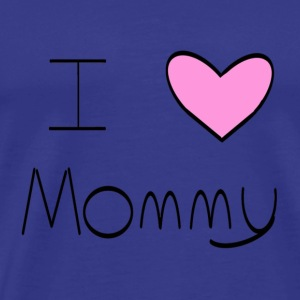 Pink I Heart Mommy - Men's Premium T-Shirt