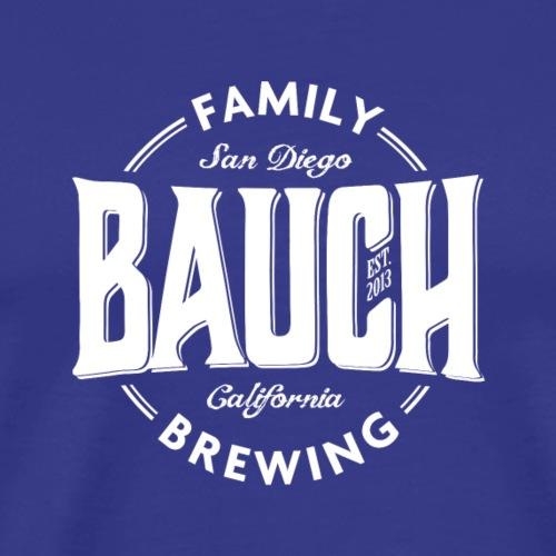 bauch family brewing white - Men's Premium T-Shirt