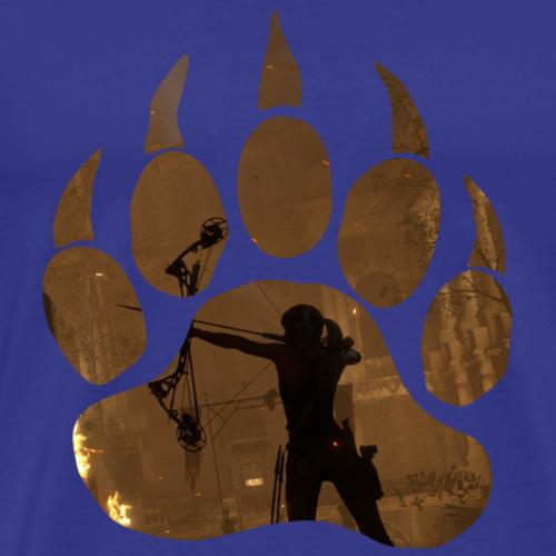 Lara Croft - Bow - Men's Premium T-Shirt