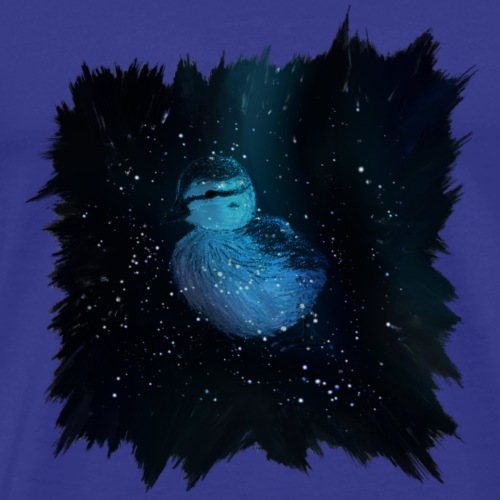 Galaxy Duckling in Space - Men's Premium T-Shirt