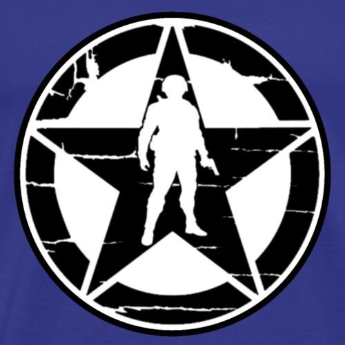 Soldier Star 2 - Men's Premium T-Shirt