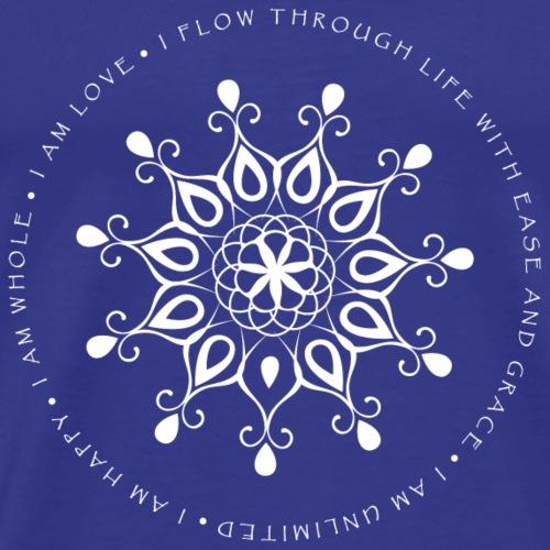 I am Happy, I am Whole, I am Unlimited - White - Men's Premium T-Shirt