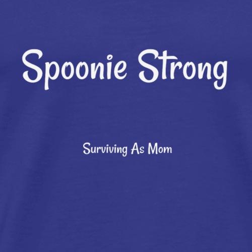Spoonie Strong white - Men's Premium T-Shirt