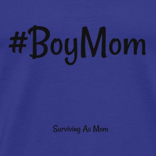 #BoyMom black - Men's Premium T-Shirt