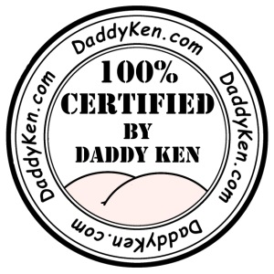 Daddy Ken Certification PBW - Men's Premium T-Shirt