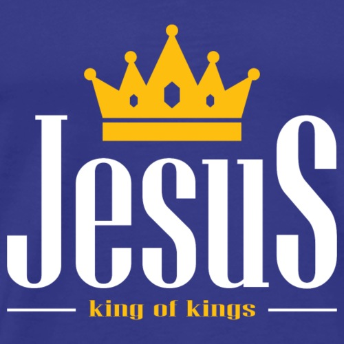 Jesus Christ king of kings,Christian,BibleVerse - Men's Premium T-Shirt