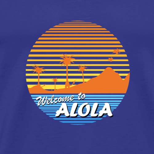 Welcome to Alola - Men's Premium T-Shirt