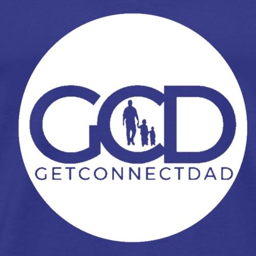 GetConnectDAD Logo Activewear - Men's Premium T-Shirt