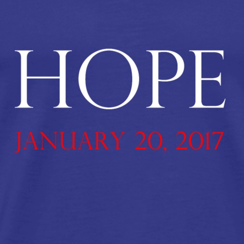 hope-white - Men's Premium T-Shirt
