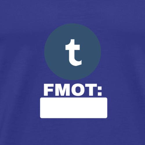FMOTumblr - Men's Premium T-Shirt