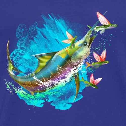 marlin - Men's Premium T-Shirt