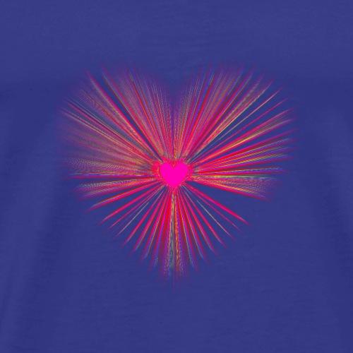 Heart Burst - Men's Premium T-Shirt