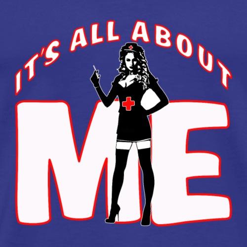 All About me Nurse - Men's Premium T-Shirt