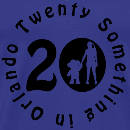 Twenty Something in Orlando Logo - Men's Premium T-Shirt