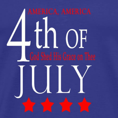 Fourth of July T-Shirts - Men's Premium T-Shirt
