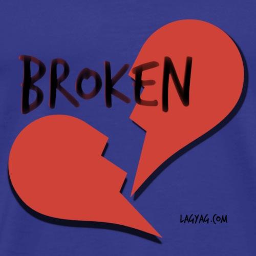 Broken Heart Fall to Pieces - Men's Premium T-Shirt