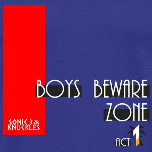 Boys Beware - FAST - Men's Premium T-Shirt