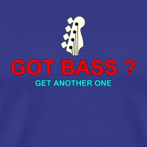 got bass colorful - Men's Premium T-Shirt
