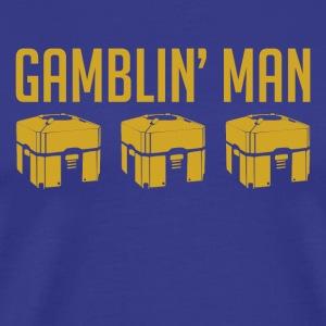 Gamblin' Man - Men's Premium T-Shirt