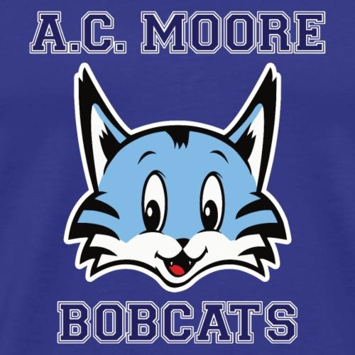 A.C. Moore Bobcats Collegiate Style - Men's Premium T-Shirt