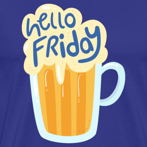 Friday Beer - Men's Premium T-Shirt